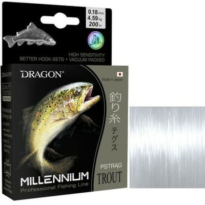Dragon Millenium Pstruh 200m 0.18mm 4.59kg